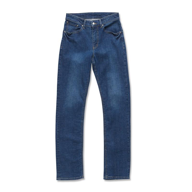 【ERSS】中直筒牛仔褲 - 男 (長版 85cm) 拔洗藍 S40053