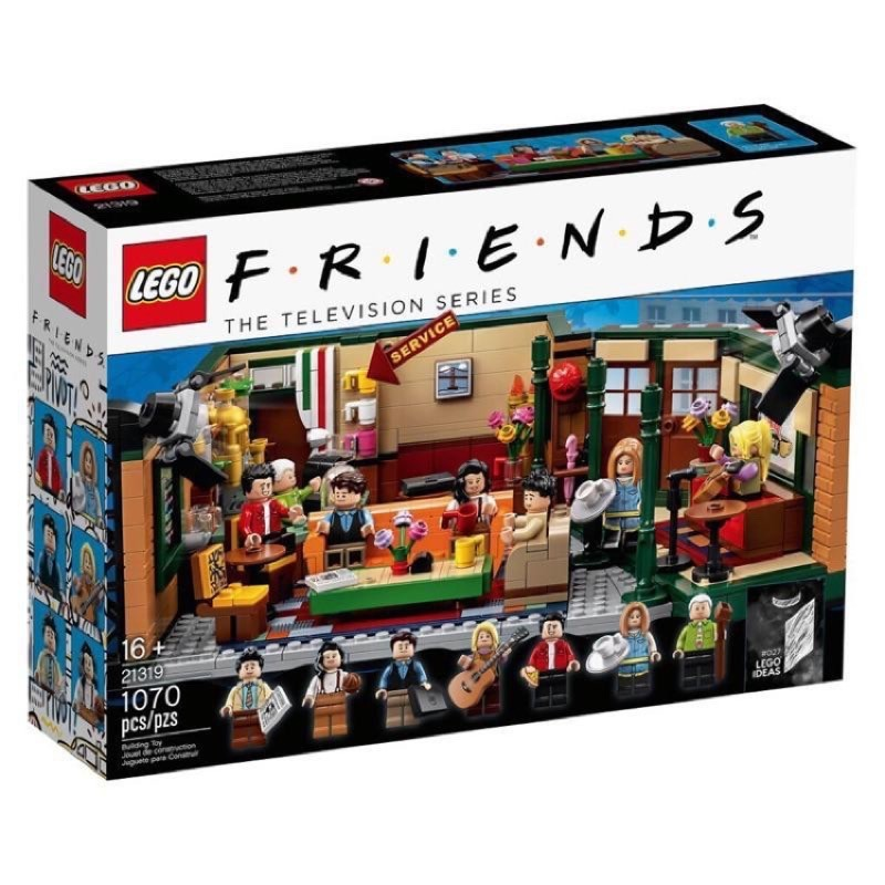 "LEGO""21319""美劇六人行咖啡廳"