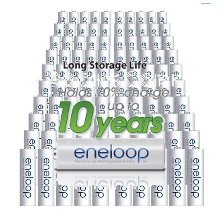 日本製 eneloop 低自放電 充電電池 現貨附發票 3號 4號 Panasonic 國際牌 eneloop pro