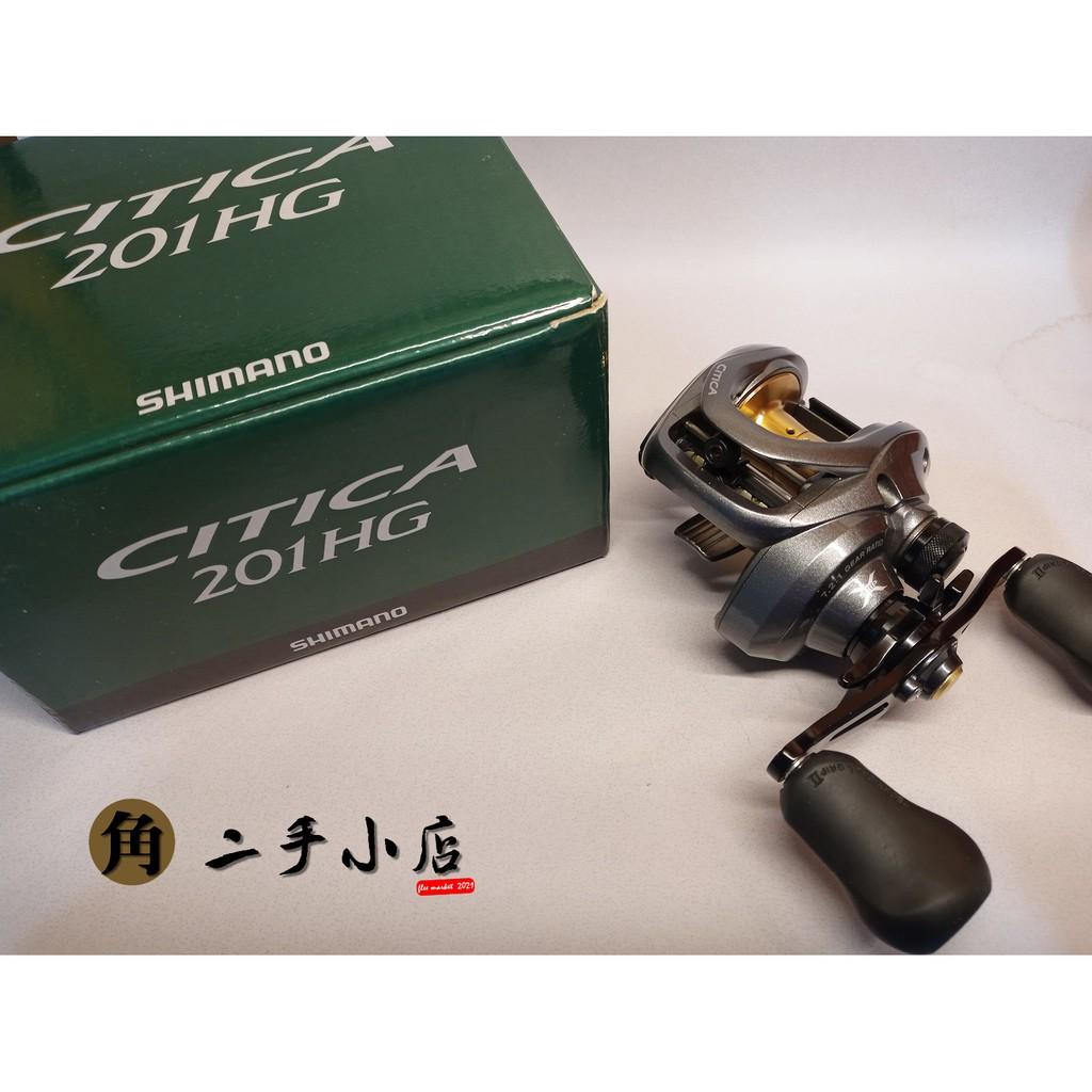 SHIMANO CITICA 201HG 小烏龜 路亞捲線器