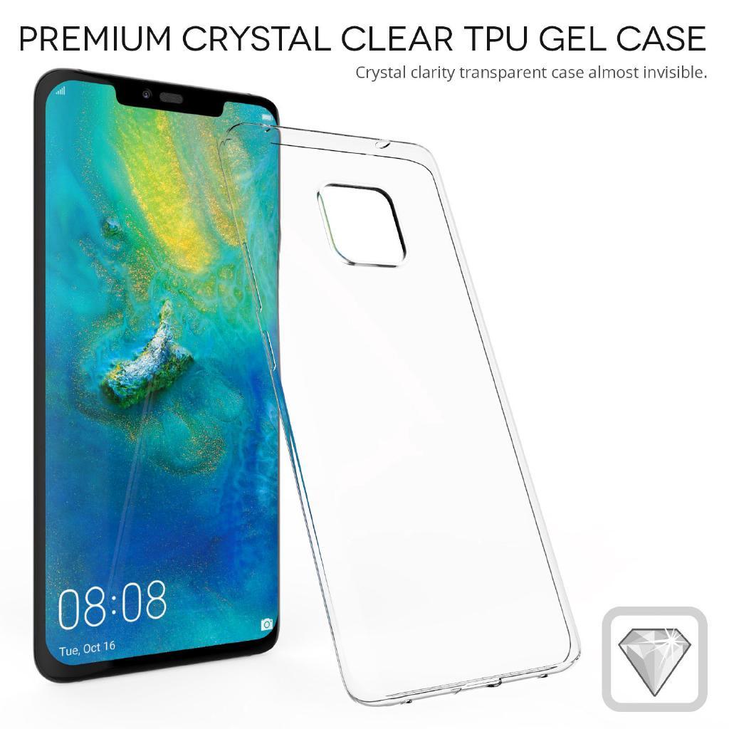 適用於華為手機殼 防摔 note9 note10+Mate 20 Pro Case透明柔軟透明矽膠超薄保護套外殼