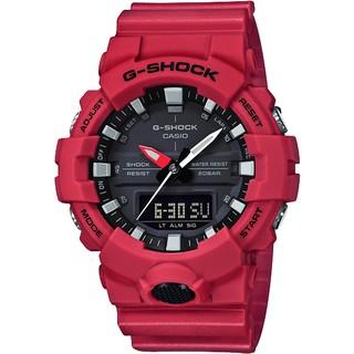 CASIO 卡西歐 G-SHOCK 獨立秒針雙顯手錶-紅 GA-800-4ADR 新北市