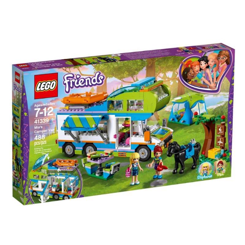 [台中可自取] 樂高 LEGO 41339 米雅的露營車 女孩禮物 生日禮 女生禮物
