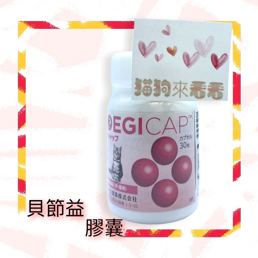 日本 共立 狗狗 貓咪 貝節益 膠囊 / 錠劑