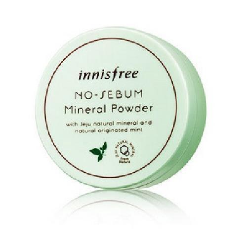 innisfree 無油光天然薄荷礦物控油蜜粉(5g/盒)[大買家]
