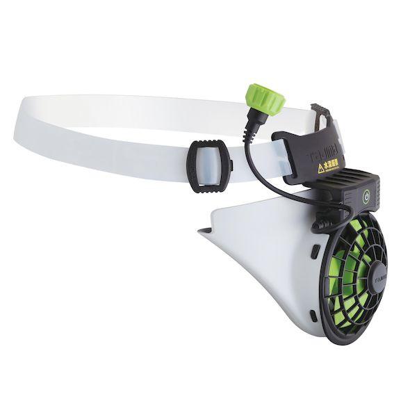 『研磨職人』田島 風雅 2 安全帽 風扇 工具風扇 單主機 須加購配件 三段風力調整 日本 TAJIMA 單品