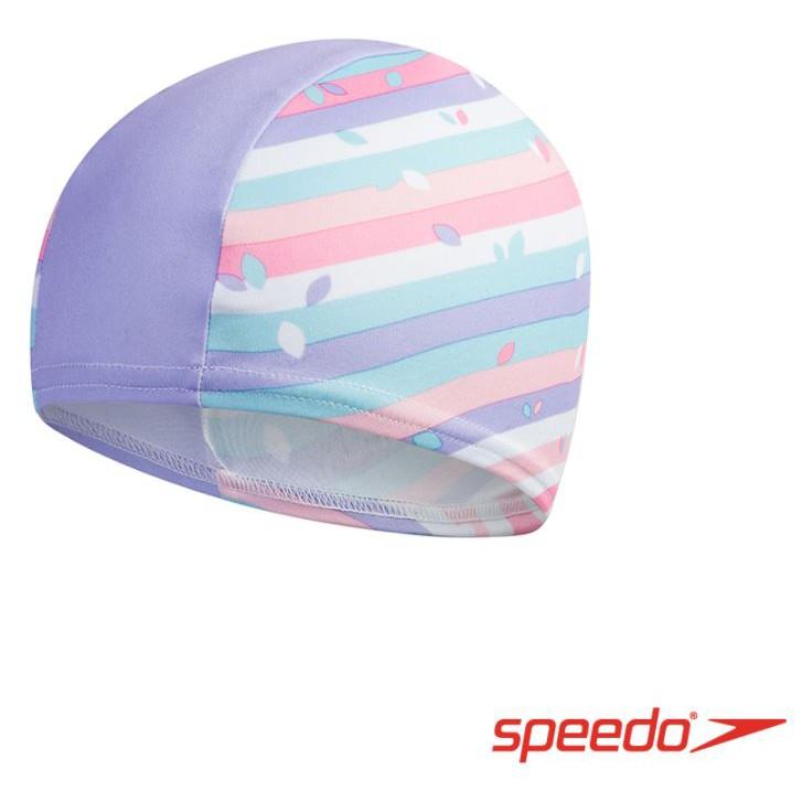 SPEEDO 兒童亮色合成泳帽_SD812241D681
