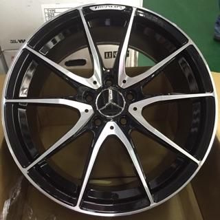 AMG式樣 18吋5孔112黑車面鋁圈 價格標示88非實際售價 洽詢優惠中