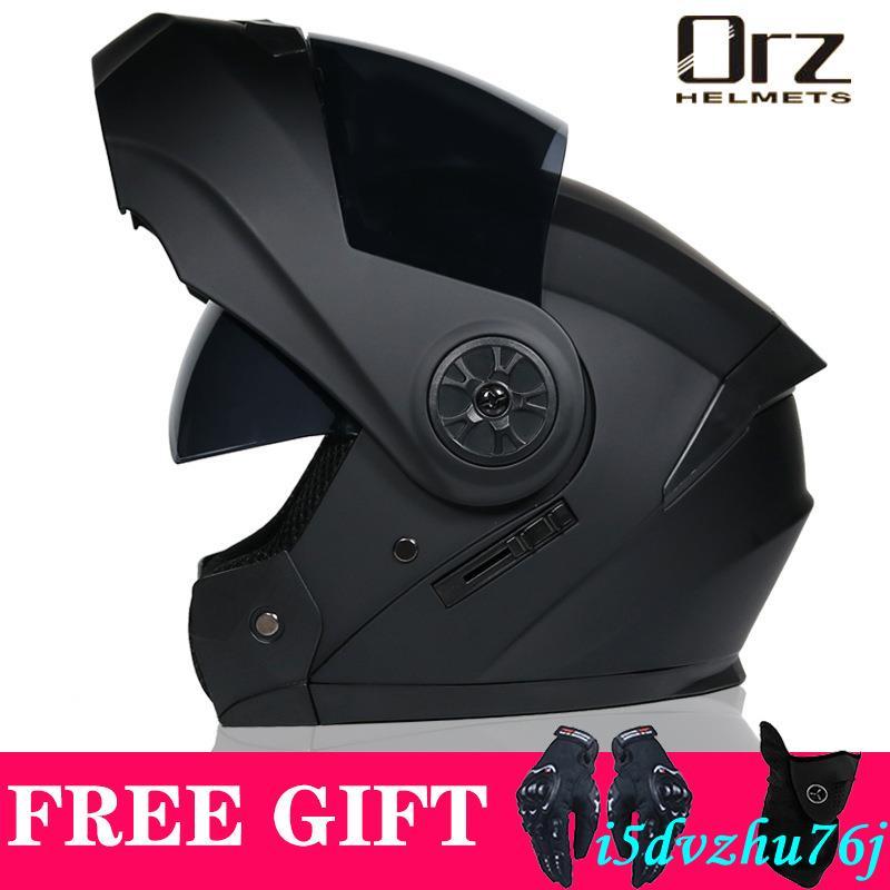 ORZ機車安全帽 男女全盔揭面盔 四季全覆式安全帽