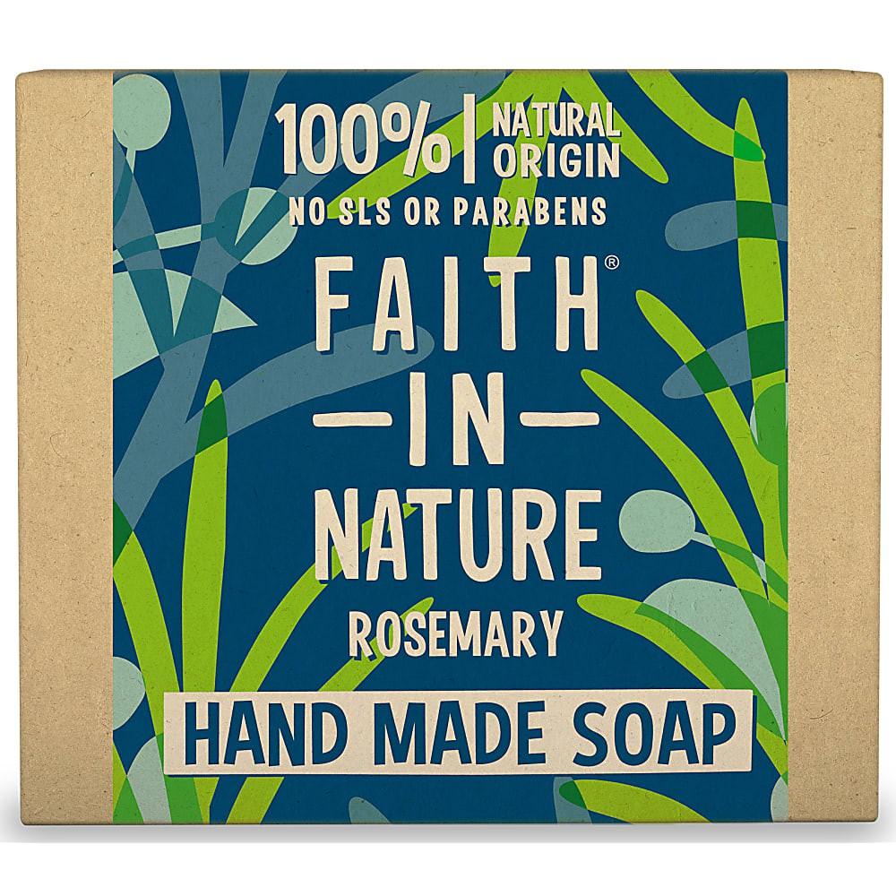 英國迷迭香植萃手工皂100g faith in nature