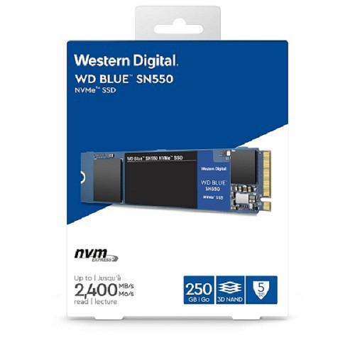WD 藍標 SN550 250GB 500GB 1TB SSD PCIe NVMe 固態硬碟