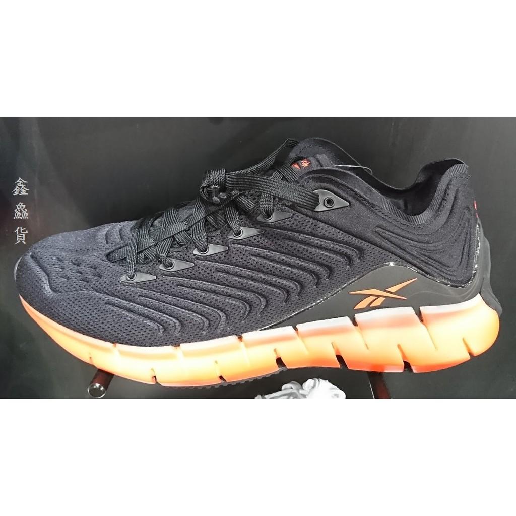 2020 二月 REEBOK ZIG KINETICA 慢跑鞋 黑橘 McGregor 代言 EH1724