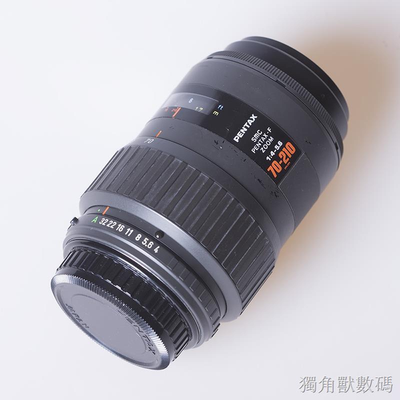 Pentax賓得F70-210mm F4-5.6 SMC全畫幅長焦遠攝鏡頭紅字小金二手易組裝 現貨免運
