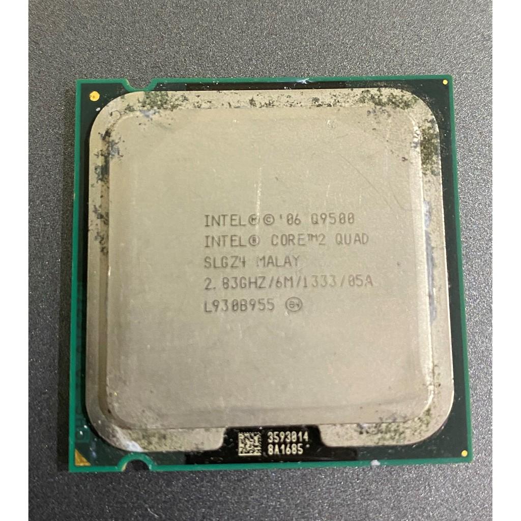 CPU Intel Q6600 Q8200 Q8300 Q8400 Q9400 Q9450 Q9550 四核心 二手良品