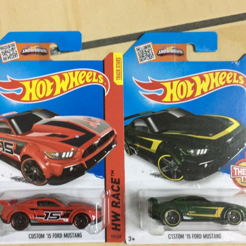 風火輪 hotwheels Ford mustang 2015