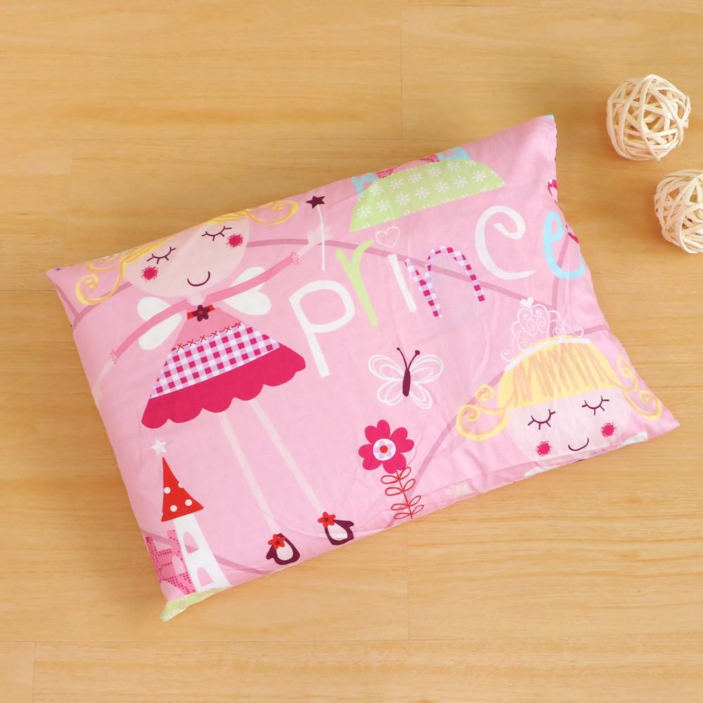鴻宇 兒童乳膠枕 公主城堡粉 防蹣抗菌 美國棉授權品牌 台灣製