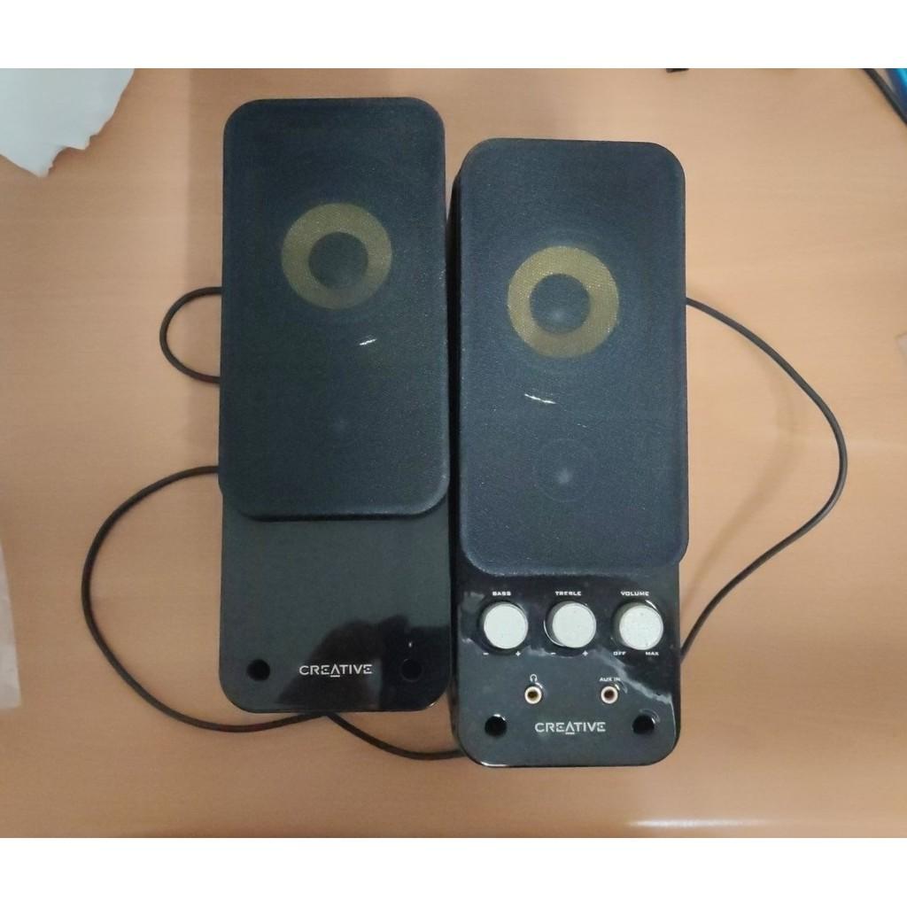 CREATIVE GigaWorks T20II 兩件式 喇叭 創新 T20 Series II 二手 MF1610