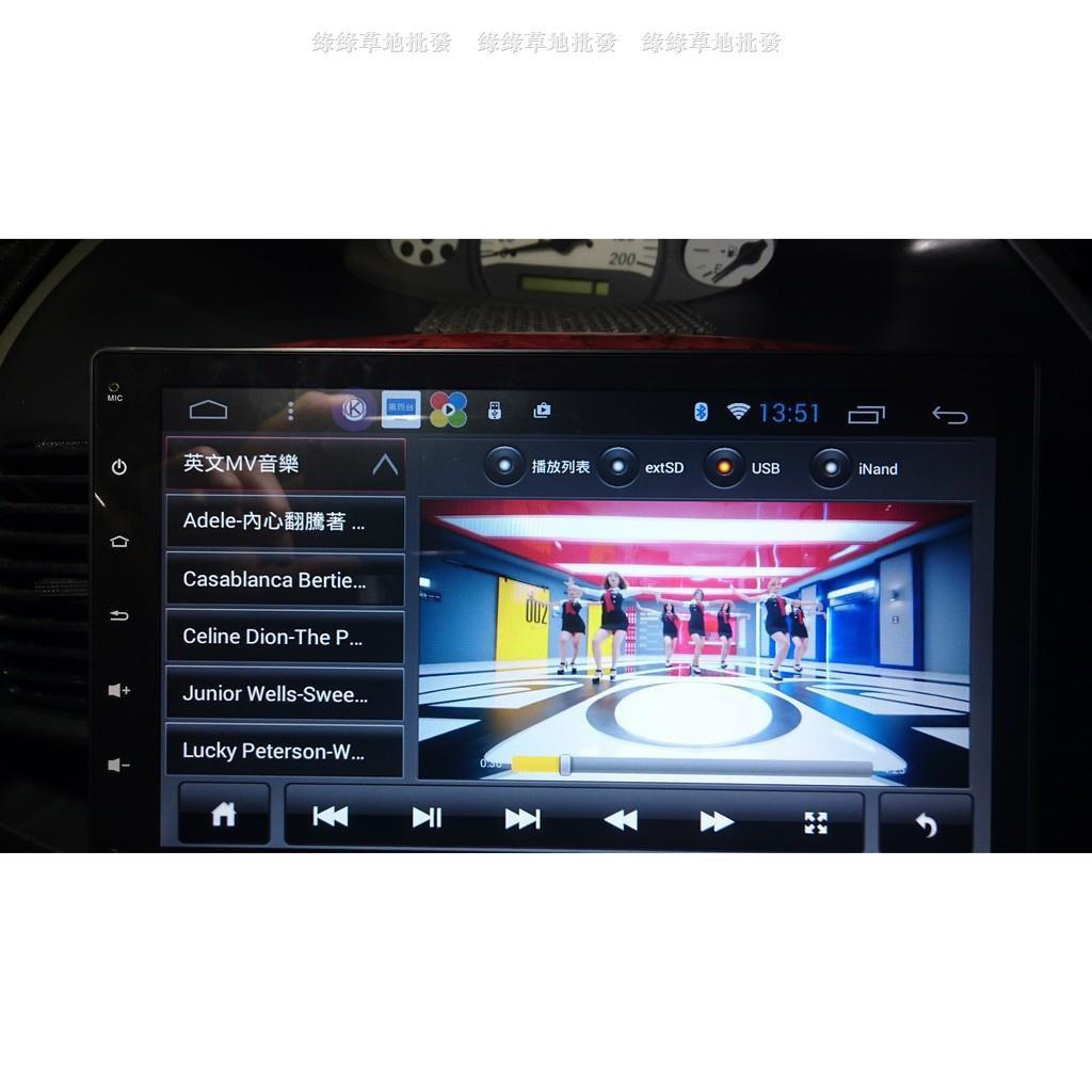 豐田TOYOTA VIOS(03年-13年) 10吋 安卓主機+網路電視+觸控面板