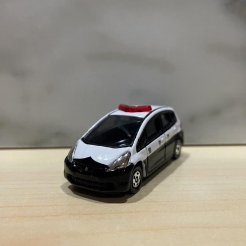 Tomica Honda Fit 警車 No. 100 非賣品
