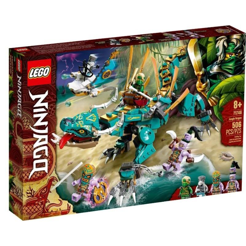 【ToyDreams】LEGO 旋風忍者 71746 叢林龍 Jungle Dragon