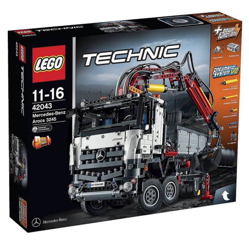 LEGO 樂高 42043 Mercedes-Benz Arocs 賓士卡車