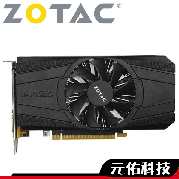 ZOTAC 索泰 GTX1050 2G 顯示卡 工業包 三年保固