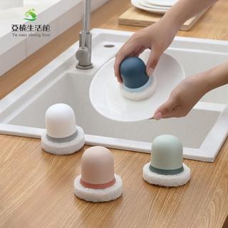 YANA 現貨 金剛砂海綿擦 家用衛生間瓷磚海綿刷 浴缸刷廚房洗碗刷 除鏽金剛刷 家居 實用工具 日用品