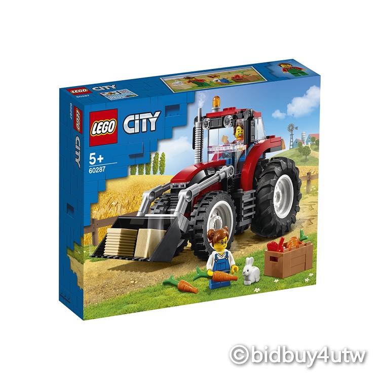 LEGO 60287 城鎮系列 拖拉機【必買站】樂高盒組