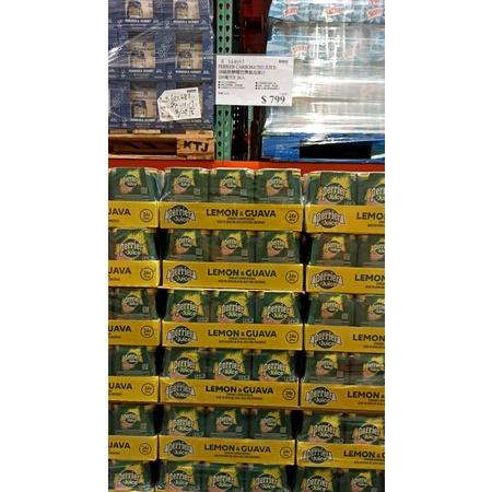 好市多代購-Perrier 沛綠雅 氣泡綜合果汁 檸檬芭樂口味 250毫升 X 24入344057#