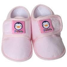 """旺媽的奶粉""""藍色企鵝 puku 寶寶 學步鞋"""