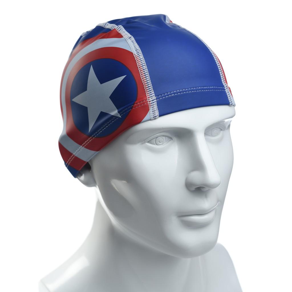✨鐘友體育✨現貨 SPEEDO 兒童合成泳帽 PACE 美國隊長 SD811307C842