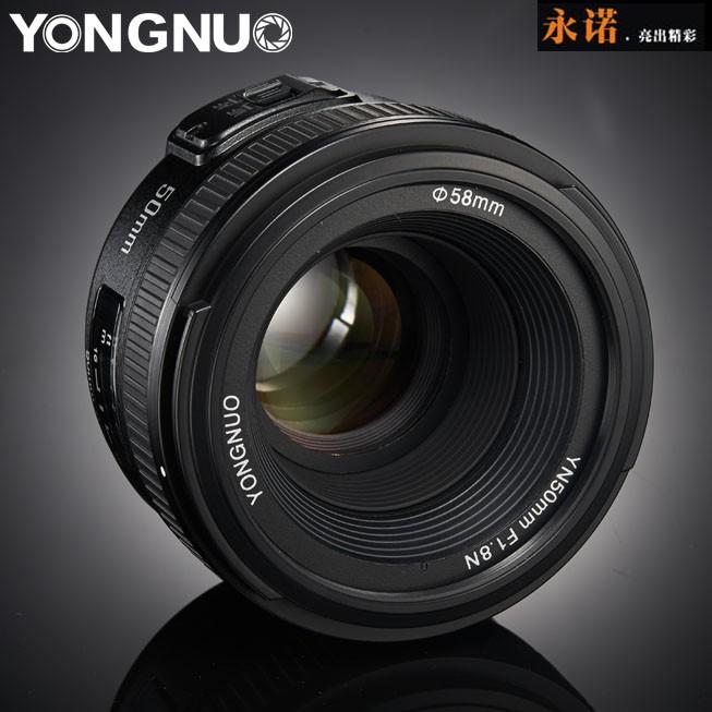 [永諾專賣] 永諾 YN 50mm f/1.8 Nikon專用 YN50mm F1.8 1.8平價標準定焦鏡 f1.8G