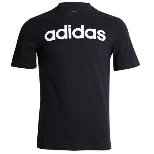 adidas E Lin Tee 基本款 黑色 棉質短Tee Du0404 [Q3現貨]