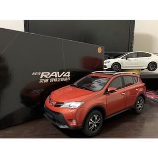 【E.M.C】1:18 1/ 18 原廠 豐田 Toyota RAV4 rav4 模型車 臺南市