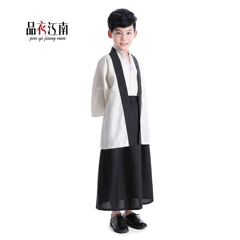 和服小男孩幼兒童寶寶傳統日本和服演出舞台服古裝寫真舞蹈服裝倩倩雜貨商城