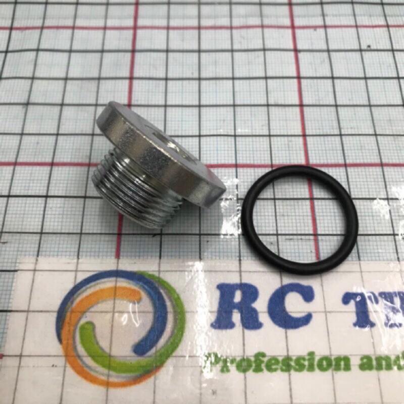 三菱 監達 堅達 CANTER 3.5-8頓 放油螺絲 五期 卸油螺絲 引擎螺絲 內六角 螺絲 含橡皮 正廠 油底殼螺絲