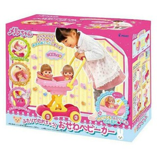 日本 PILOT 小美樂娃娃 配件 雙人遮陽小推車 桃園市