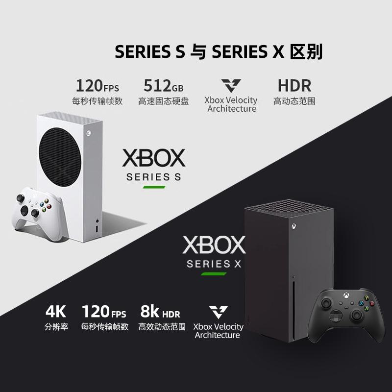 微軟Microsoft Xbox Series S/X遊戲機次時代4K遊戲主機XSX國行