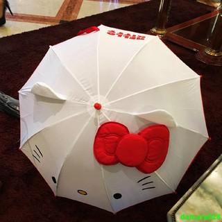 兒童傘🔥出口日本可愛KT兒童蝴蝶結公主手動開收長柄 雨傘 安全男女卡通 戶外 臺北市
