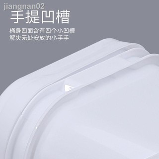 現貨熱賣▩☽﹉食品級塑料桶8L升公斤KG加厚帶蓋方形提桶密封包裝桶果醬桶收納桶