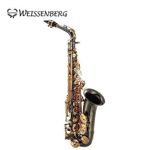 ★集樂城樂器★WEISSENBERG A-603BG 中音薩克斯風(鍍黑管身)