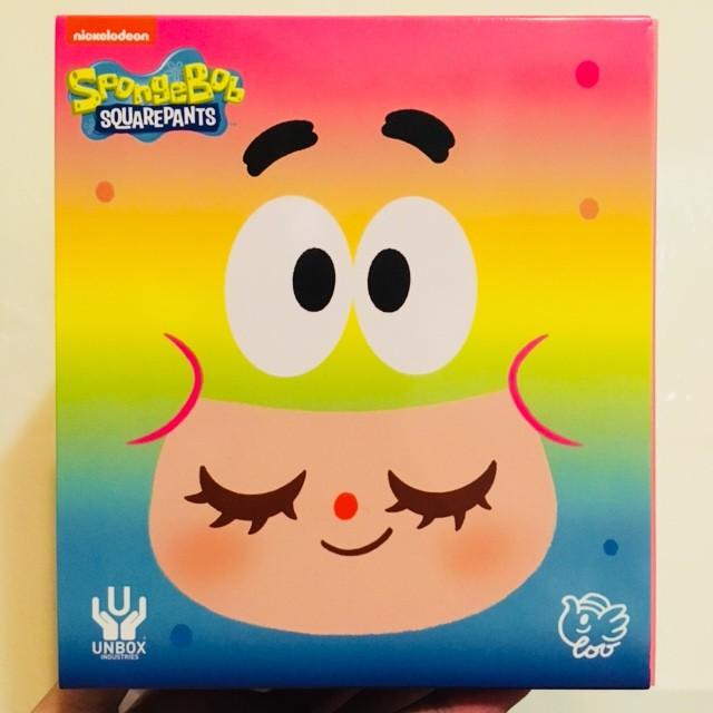 限時特價 現貨 泰國 Spongebob Greenie Unbox  海綿寶寶 派大綠 海綿 Elfie