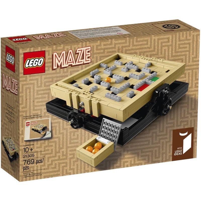 全新盒裝LEGO 21305迷宮