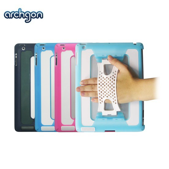 Archgon  iPad 2手持式保護殼-三色可選 (AD2-1001)