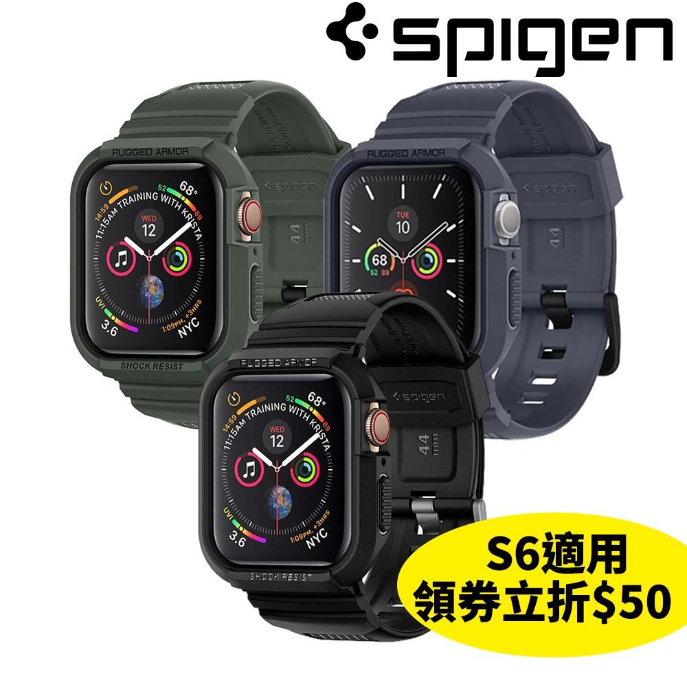 Spigen Apple Watch S6/5/4/SE(44mm /40mm)Rugged Armor Pro防摔殼