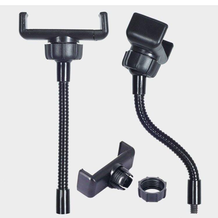 小智直播支架配件內螺口軟管手機夾補光燈機位手機夾熱靴手機配件夾母