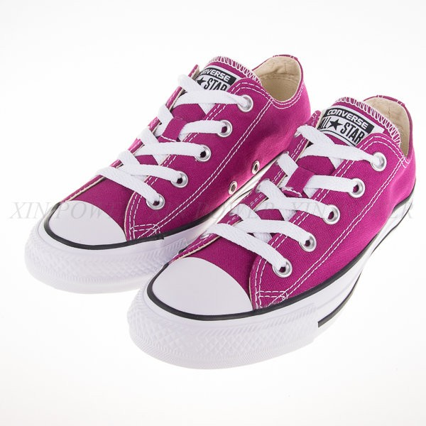 CONVERSE~All Start-基本款低筒帆布鞋(桃紫)(149519C)