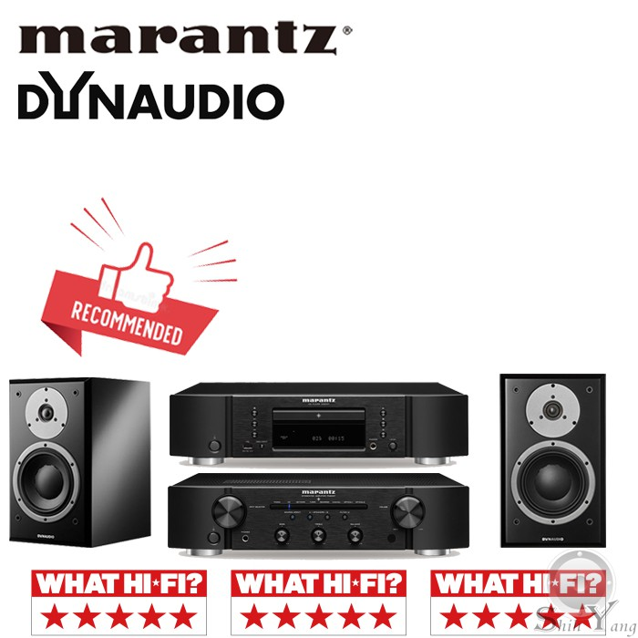 Marantz CD6007 CD播放機 + PM6007 綜合擴大機 + Dynaudio EMIT M10 公司貨