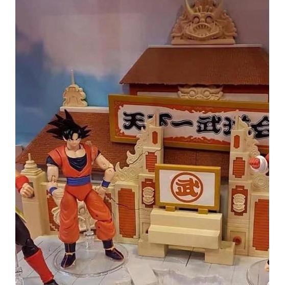 玩具購GO 現貨 全新未拆 萬代 BANDAI 七龍珠 場景 天下一武道會 含悟空 套組