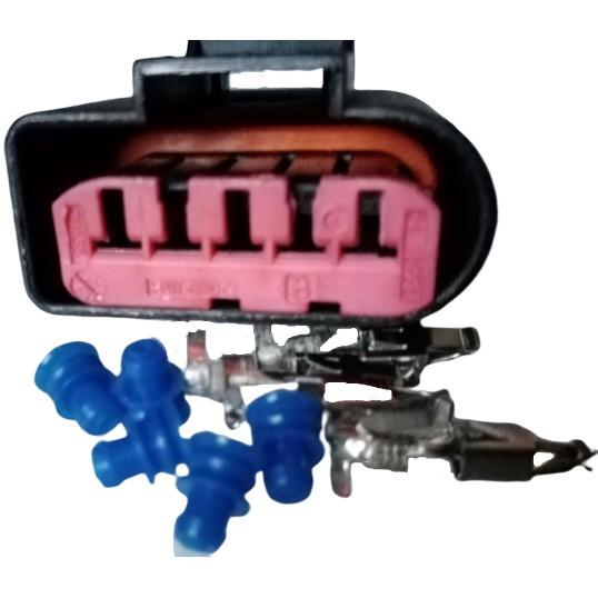 福斯 A3 A6 A8 TT 奧迪 空氣流量計插頭 空氣流量感知器插頭 進氣溫度感知器插頭 進氣溫度感知器接頭 5P